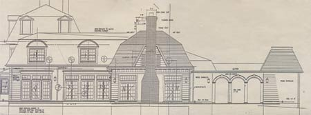 Architectural Drawing Of House